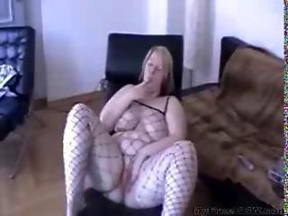 German Bbw Becky Sexblonddi Teases In A Net Suit Bbw Fat Bbbw Sbbw Bbws Bbw Porn Plumper Fluffy Cums