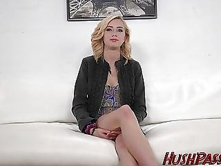 19 Yr Old Haley Reed Gets Fucked And A Facial