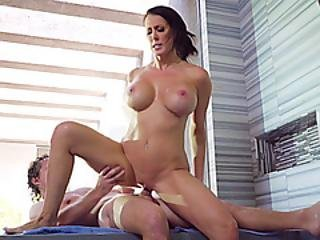 Water Shortage Means I Have To Shower With My Busty Stepmom