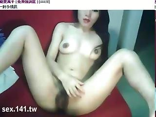 Babe Natural-tits Orgasm Fist Hairypussy