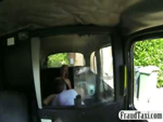 Amateur Milf Blonde Squirts And Fucks In A Taxi
