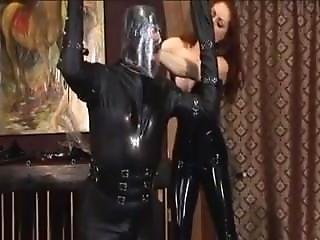 Rubber Slave Used By Her Latex Mistress