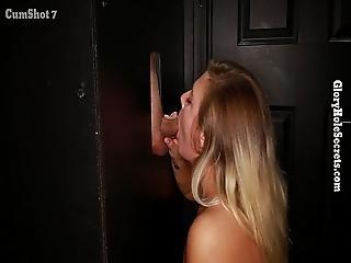 Gloryhole Secrets Blonde Girl Next Door Gets Naughty
