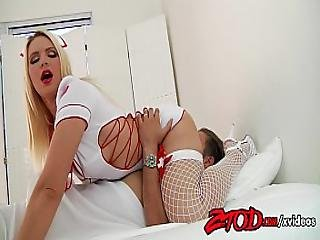 Sexy Nurse Annika Albright