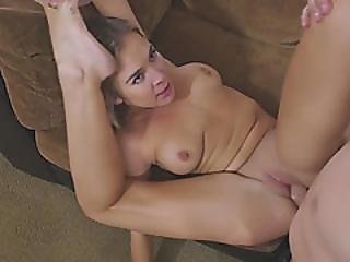 Busty Teen Blair Takes Step Dad Boner In Missionary