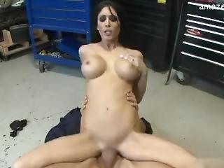 Natural Tits Pussy Bondage