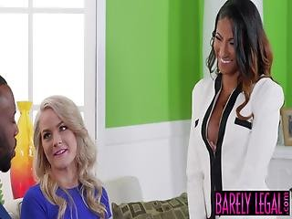 Young Swinger Lisey Sweet Facialized After Threeway With Bbc