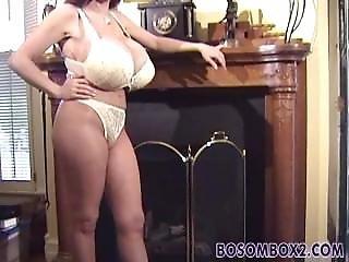Casey James - White Bra & Panties