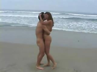 British Indian Couple Sex At The Beach