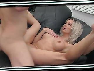 Blonde At A Porn Casting