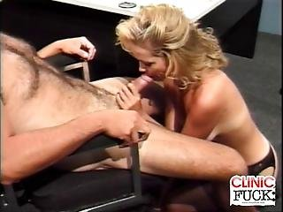 We Have This Female Doctor And Patient As Things Got Steamy Inside The Clinic Watch As Our Doctor Gets Analed By Her Patients As She Moans In Pleasure And Gets A Nasty Cumshot Afterwards