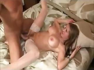 Sexy Amateur Milf Gets A Creampie