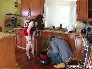 Teen Wake Up Sex The Plumber Gets His Pipe Cleaned