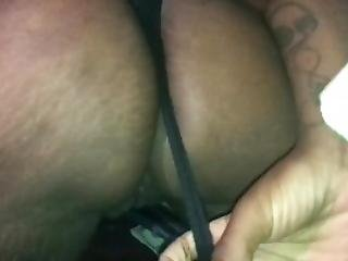 Girls Gives A Peak At Her Pussy While Shaking Ass In Super Slow Motion