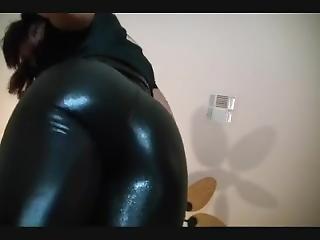 Mz. D Shiny Black Ass