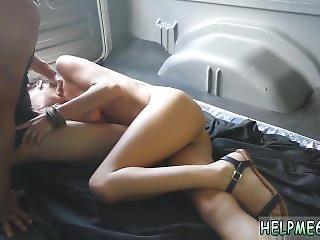 Guy Milked Bondage And British Blonde Lesbian Bondage Renee Roulette Went