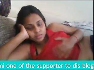 Aunty Skype Chat With Devar While Husband Sleeping