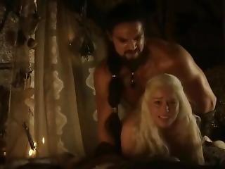 Emilia Clarke Game Of Thrones Sex Scenes