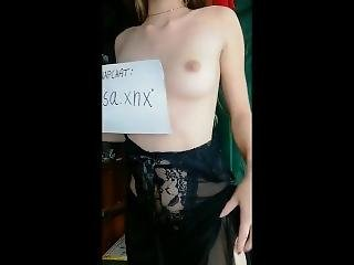 Destroy My Teen Pussy With Huge Cock And Cum On Me