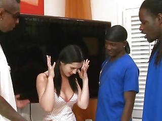 Big Black Cock, Big Cock, Black, Blowjob, Dp, Gangbang, Innocent, Interracial, Teen