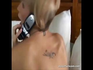 Sexy Cheating Blonde Milf Sucks And Fucks Lucky Hookup Guy