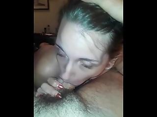 Babygirl Gives Daddy Head