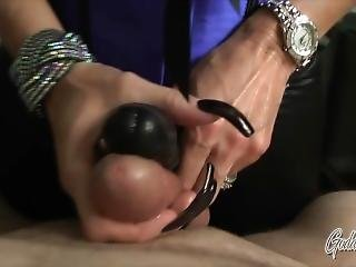 My Hot Ass - Goddess Nikki Pov Femdom Handjob Makes Him Cum With Strapon