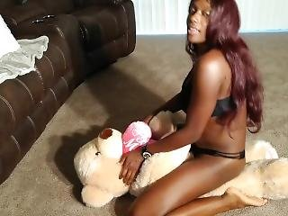 I Grind On This Teddy Bear Until I Cum