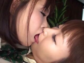 School Girls Lesbian Kisses