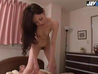 Misaki Yoshimura Gets Pumped In A Rough Asian Threesome