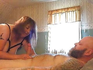My Wife Gets Fucked By A Huge White Cock While I Am At Work