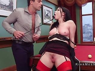Big Boobs Wife Veruca James Got Her Pussy Spanked And Paddled By Her Husband Ramon Nomar Then She Was Jealous When Her Husband Tormented Secretary Anna Tyler So She Submitted Her In Threesome Anal