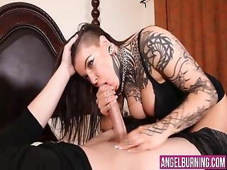 Sexy Bitch Really Loves Cleaning Out That Big Fat Ramrod