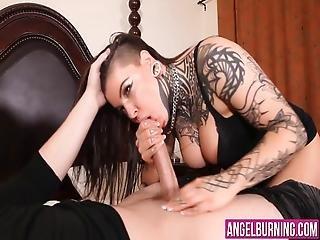 dziwka, obciąganie, cycek, brunetka, sperma, gruba, fetysz, hardcore, kapelusz, seksowna