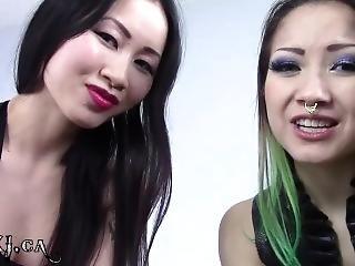 asiatisk, babe, sperm, fetish, gudinne, pov, små pupper, spytt