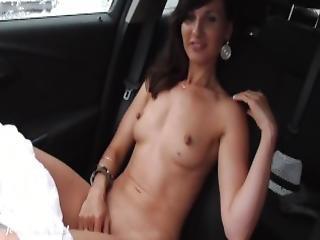 Jeny Smith No Panties Flashes At Vacations