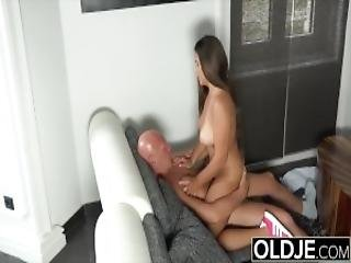 A New Sensation Young Girl With Big Beautiful And Natural Boobs Gets Facial