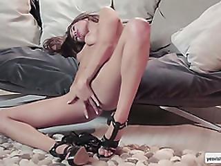 Brunette Slut Michaela Isizzu In A Frenzy Erotic Desire For Solo Fuck