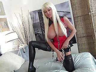 Big Boob, Blonde, Boob, Dominatrix, Masturbation, Milf, Pornstar