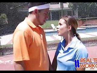 Cute Teen Fucked By Tennis Coach