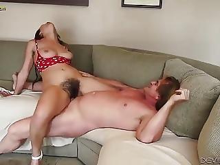 Woman With A Nice Bush
