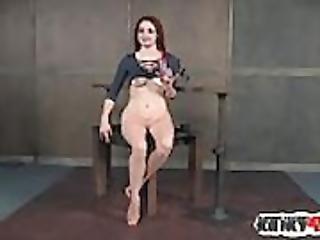 Hot pornstar bdsm bondage and cumshot