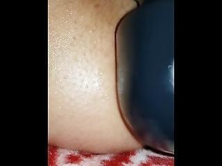 10 Inch Dildo In Big Ass