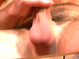 Straight Dude Playing With His Cock