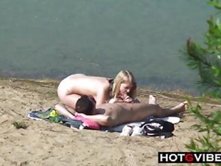 amatoriale, cull, trombate, spiaggia, bionda, culetto, culo, coppia, hardcore, all'aperto, in pubblico, sesso, voyeur