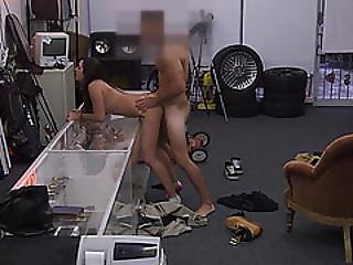 Shop Owner Gets A Taste Of A College Students Pussy
