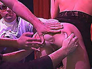 Her First Gangbang Fuck Party