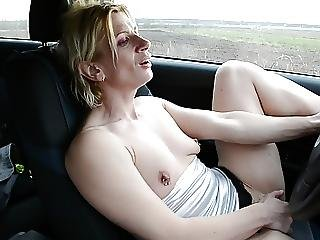 Slut In Car