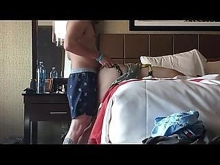 Horny Girlfriend Creampied On Vacation