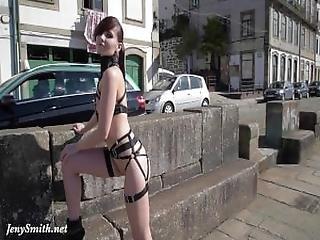 Jeny Smith   Mymokondo Straps In Public